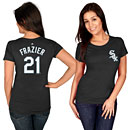 Chicago White Sox Todd Frazier Ladies Name and Number T-Shirt