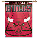 Chicago Bulls Vertical Banner Flag