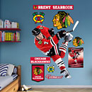 Chicago Blackhawks Brent Seabrook REAL.BIG. Fathead