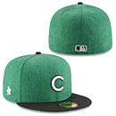 Chicago Cubs St. Patrick's Day Heather 5950 Fitted Cap
