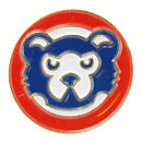 Chicago Cubs 1989 Bear Face Souvenir Pin