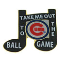 Chicago Cubs Take Me Out to the Ball Game Collectible Souvenir Pin
