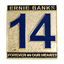 Chicago Cubs Ernie Banks Forever In Our Hearts Collectible Souvenir Pin
