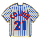 Chicago Cubs Tyler Colvin Jersey Lapel Pin