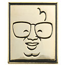 Harry Caray Square Souvenir Pin