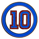 Chicago Cubs Ron Santo Number Lapel Pin