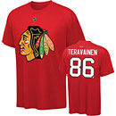 Chicago Blackhawks Teuvo Teravainen Youth Name and Number T-Shirt