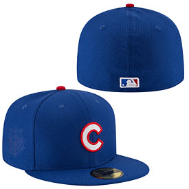 Chicago Cubs Authentic Collection Game Diamond Era 59FIFTY Fitted Cap