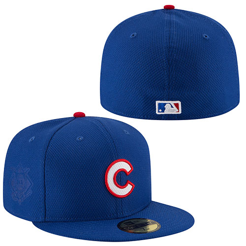 1e0304cd1f6 Chicago Cubs Authentic Collection Game Diamond Era 59FIFTY Fitted Cap