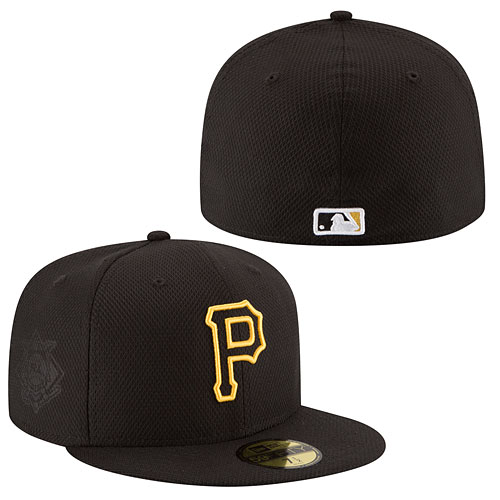 Pittsburgh Pirates Authentic Collection Game Diamond Era 59FIFTY Fitted Cap 16ca9581abc1