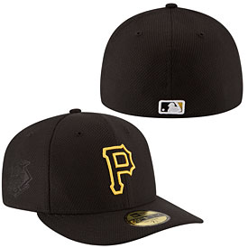 Pittsburgh Pirates Authentic Collection Game Diamond Era Low Crown 59FIFTY Fitted Cap