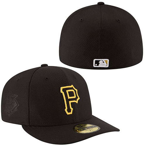 Pittsburgh Pirates Authentic Collection Game Diamond Era Low Crown 59FIFTY  Fitted Cap acc42aca8500