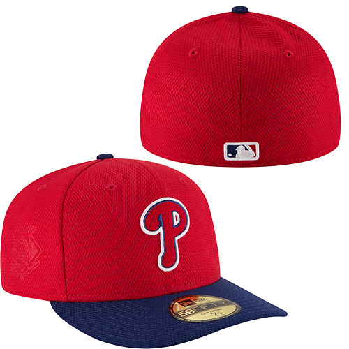 Philadelphia Phillies Authentic Collection Game Diamond Era Low Crown 59FIFTY  Fitted Cap. Hover to magnify image. CLOSE  X . Zoomed Image 60020df25175