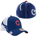 Chicago Cubs Logo Wrapped 39THIRTY Flex Fit Cap