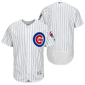 Chicago Cubs Home Flexbase Authentic Collection Team Jersey