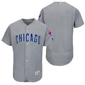 Chicago Cubs Road Flexbase Authentic Collection Team Jersey