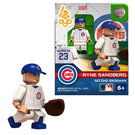 Chicago Cubs Ryne Sandberg Hall of Fame Edition OYO Mini Figure