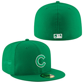 Chicago Cubs St. Patrick's Day Diamond Era 59FIFTY Fitted Cap