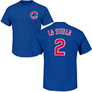 Chicago Cubs Tommy La Stella Youth Name and Number T-Shirt