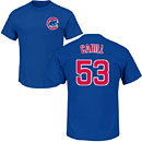 Chicago Cubs Trevor Cahill Youth Name and Number T-Shirt