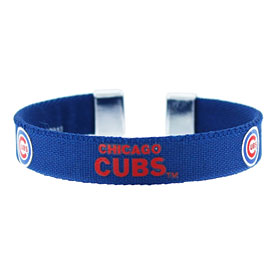 Chicago Cubs Ribbon Band Bracelet