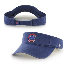 Chicago Cubs Walking Bear Washed Visor