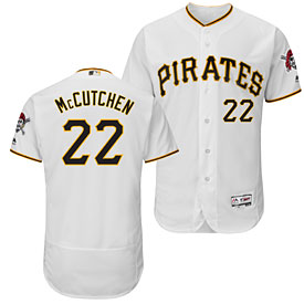 Pittsburgh Pirates Andrew McCutchen Home Flexbase Authentic Collection Jersey