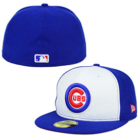Chicago Cubs Bullseye Logo Two-Tone 59FIFTY Fitted Cap
