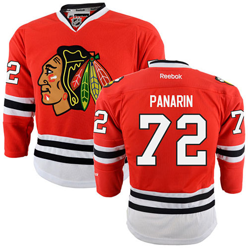 best cheap a76f7 609b7 Chicago Blackhawks Artemi Panarin Youth Red Premier Jersey