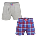 Chicago Cubs Mens Playoff Two Pack of Boxers