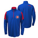 Chicago Cubs Youth Cool Base 1/4 Zip Jacket