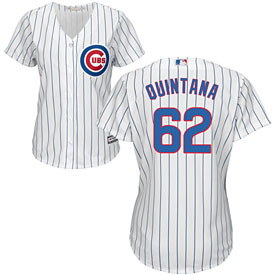 Chicago Cubs Jose Quintana Ladies Home Cool Base Replica Jersey