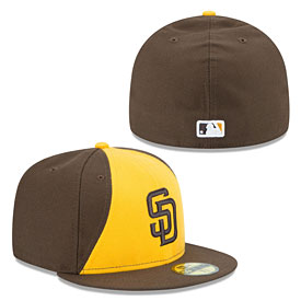 San Diego Padres Authentic Collection Alternate 2 On Field 59FIFTY Fitted Cap