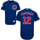 Chicago Cubs Kyle Schwarber Flexbase Alternate Authentic Collection Jersey