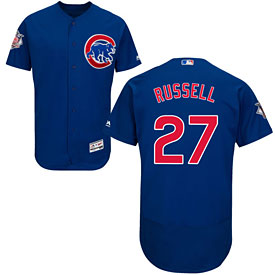 Chicago Cubs Addison Russell Flexbase Alternate Authentic Collection Jersey