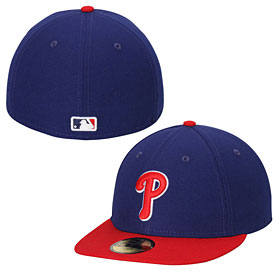 Philadelphia Phillies Alternate Authentic Collection Low Crown On-Field 59FIFTY Game Cap