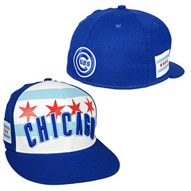 Chicago Cubs Chicago Wordmark 59FIFTY Fitted Cap