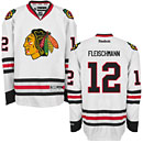 Chicago Blackhawks Tomas Fleischmann White Premier Jersey w/ Authentic Lettering