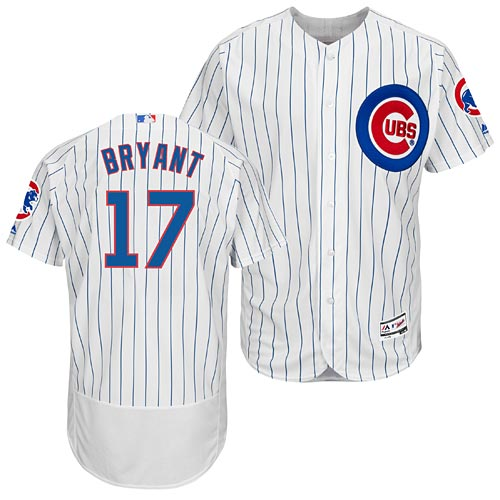 Chicago Cubs Kris Bryant Home Flexbase Authentic Collection Jersey