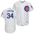 Chicago Cubs Jon Lester Home Flexbase Authentic Collection Jersey