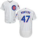 Chicago Cubs Miguel Montero Home Flexbase Authentic Collection Jersey
