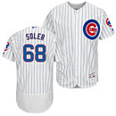 Chicago Cubs Jorge Soler Home Flexbase Authentic Collection Jersey
