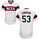 Chicago White Sox Melky Cabrera Alternate White Flexbase Authentic Collection Jersey