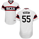 Chicago White Sox Carlos Rodon Alternate White Flexbase Authentic Collection Jersey