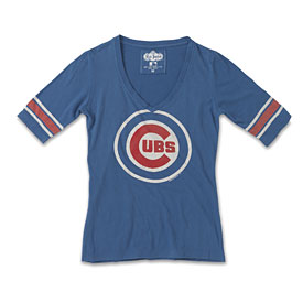 Chicago Cubs Ladies Mahalo V-Neck T-Shirt