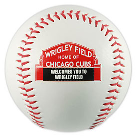 Chicago Cubs Wrigley Field Marquee Sign Baseball