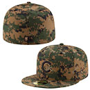 Chicago Cubs 2016 Memorial Day 59FIFTY Fitted Cap