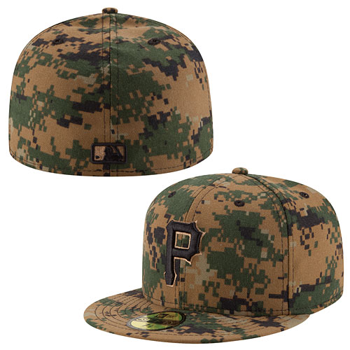aa641bd133e Pittsburgh Pirates 2016 Memorial Day 59FIFTY Fitted Cap
