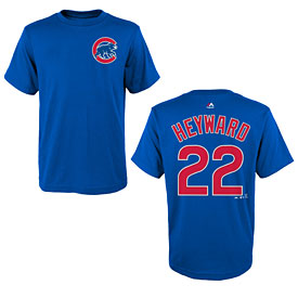 Chicago Cubs Jason Heyward Youth Name and Number T-Shirt