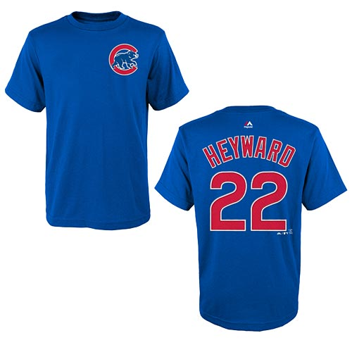 the best attitude 67d94 996c5 Chicago Cubs Jason Heyward Youth Name and Number T-Shirt